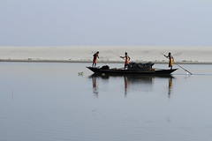 Fishing (reminiscebox) Tags: river boat fishing canon canon7d water shadow india tezpur
