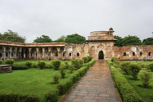 Courtyard of Jami masjid, Champaner, Gujarat