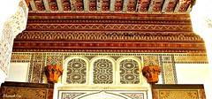 MAROCCO 01-2015 045 (Elisabeth Gaj) Tags: maroco012015 elisabethgaj marocco marrakech afryka travel architecture building bahiapalace