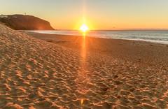 Sunrise Beach Seascape (Merrillie) Tags: daybreak shoreline sand landscape nature australia surf sunburst newsouthwales forrestersbeach earlymorning nsw sky beach ocean centralcoast sea water photography coastal outdoors waterscape dawn coast sunrise seascape