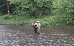 Kettle Creek at Route 144 Bridge (rentavet) Tags: kettlecreekpottercounty flyfishing catchandrelease trout analog nikkormatel nikkor105mm konicacenturia400asa expired012006 kettlecreeklodgeandcabins june2017 pottercountypa pawilds troutfishing