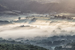 Bovey Mist (macdad1948) Tags: wrayvalley sunrise bovey houndtor mists stream sunlight wray haytor boveytracey manaton river valley earlymorning rays shadows