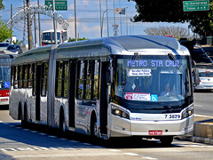 7 3829 DSC_0733 (busManíaCo) Tags: busmaníaco nikond3100 caioinduscar ônibus caio millennium brt articulado mercedesbenz o500uda bluetec 5