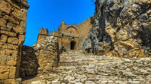 Akrokorinthos Fortress.