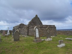 St Mary's Chapel, Crosskirk, Caithness, Sutherland, August 2017 (allanmaciver) Tags: st mary chapel crosskirk caithness sutherland north coast walk lonely ruin history norse scotland graves old slabs worth visit allanmaciver