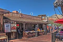 Silver Sadle Cafe-Sedona AZ 6364 (Emory Minnick) Tags: sedonaarizona silversaddletavern sidewalkseating cowboytypebarandrestaurant