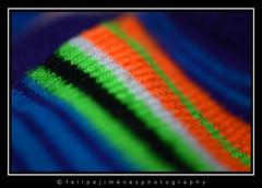 Fabric (dogtor68) Tags: 7dwf macro closeup makemesmile color fabric colors colores stripes rayas