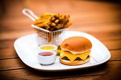 Knife (Thomas Hawk) Tags: america dallas frenchfries highland highlanddallas hotel texas usa unitedstates unitedstatesofamerica burger cheeseburger food foodporn knife restaurant fav10