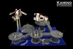 Kamino (KaminoKingdom) Tags: elements lego star wars kamino clones gar planet galaxy gunship