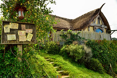 Sandyman's water-mill, a short stroll from The Green Dragon Inn (T Ξ Ξ J Ξ) Tags: newzealand hobbiton hobbitonmovieset matamata d750 nikkor teeje nikon2470mmf28 lbwarmingcpl hobbit house hole home watermill