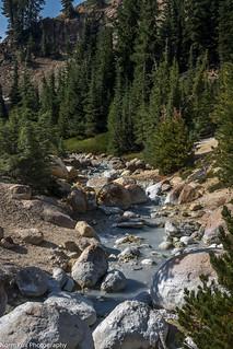 Bumpass Hell Creek