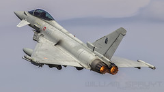 Typhoon Italian Airforce 7304 (william.spruyt) Tags: airforce airplane fighter jet afterburner aviation typhoon eurofighter e2000
