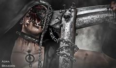 Suicidal Death   -     *on 3 day holiday!* (_Adra Braeden_ *Client List CLOSED*) Tags: cx gore blood murder dark death contraption mouth horror collar cerberusxing scythe event gabriel