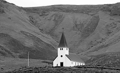 Iceland (JOAO DE BARROS) Tags: iceland joão barros monochrome church