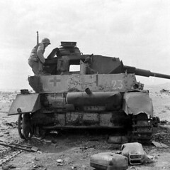 "Knocked out Panzer IV lang in Tunisia • <a style=""font-size:0.8em;"" href=""http://www.flickr.com/photos/81723459@N04/36362765241/"" target=""_blank"">View on Flickr</a>"