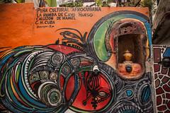 Cuba - La Havane - Callejon de Hamel (Cyrielle Beaubois) Tags: 2016 cuba cyriellebeaubois décembre lahavane lahabana carribeans caraibes december travel explore wanderlust wander callejóndehamel painting art streetart wall
