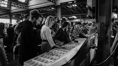 East Market, Milan - Italy (DiSorDerINaMirrOR) Tags: milan milano people streetstyle urban market eastmarket italy italia italien city citylife blackwhite sony sonyalpha sonyalpha6000 september sunday