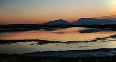Alkali Lake Sunset (wyojones) Tags: wyoming cody alkalilake aquaticplants sodium metal salts alkali basicsalts waterfowl habitat wetlands lake water rattlesnakemountain cedarmountain spiritmountaini wyojones