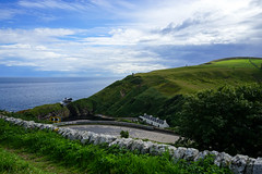 North Coast 500 | Berriedale (Jenny.Lawrence) Tags: nature travel scotland north coast 500 nc500 landscape sony sonya7 a7 road sea water sky clouds vista