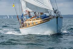 Cyrene view 2 (Matchman Devon) Tags: classic channel regatta 2017 st peter port paimpol cyrene