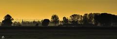 Paysage de Normandie (emmanuelbernard1) Tags: france montstmichel paysage village lanscape panoramique leverdesoleil sunrise campagne countryside