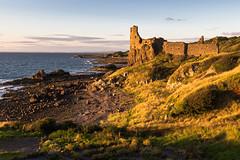 Dunure Castle at Sunset (dalejckelly) Tags: canon canon7dmarkii canon1635f4lis landscape landscapephotography dunure castle coast coastline ayrshire sea seaside ocean scotland scottish visitscotland scenery scenic sunset goldenhour summer outdoor