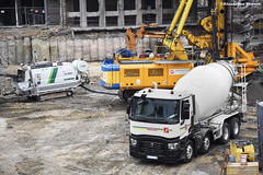 Renault Trucks C 430 (Alexandre Prévot) Tags: camion truck béton construction travaux chantier worksite buildingsite construcción baustellebauplatz cugn grandnancy lorraine