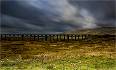Ribblehead Viaduct (Fermat 48) Tags: ribbleheadviaduct viaduct yorkshiredales shadow shade sunlight dramaticsky clouds movement canon eos 7dmarkii
