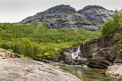 Leirskarddalen (Einar Schioth) Tags: leirskarddalen trees tree day water waterfall sky summer canon clouds cloud cliff nationalgeographic ngc norway norge nature nordland helgeland mountains landscape lake photo picture outdoor einarschioth