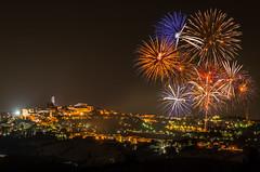 Festa di San Giuliano - Macerata (emanuelezallocco) Tags: fireworks macerata marche italy fuochiartificiali light landscape cityscape summer estate 2017