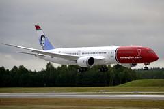 Norwegian Air UK  G-CKNA, OSL ENGM Gardermoen (Inger Bjørndal Foss) Tags: gckna norwegian nuk boeing 787 7879 dreamliner osl engm gardermoen
