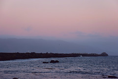 The Dimming Of The Day (nrg_crisis) Tags: dusk sunset crescentcity california harbor coastline nikond3300