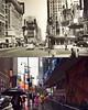 Times Square (North) - 1950 - 2017 (Christian Montone) Tags: newyorkcity newyork manhattan broadway vintage montone christianmontone nyc theatredistrict timessquare 1950s 50s