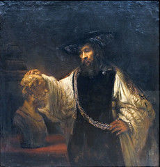 Rembrandt, Aristotle with a Bust of Homer, 1653