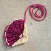The same crochet fan, squared off and ready to be joined to another piece (crochetbug13) Tags: crochet crocheted crocheting crochetbug crochetcrazyquilt crochetfan crochetafghan crochetblanket crochetthrow embroidery embroideredcrochet
