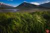 One with nature (Kasia Sokulska (KasiaBasic)) Tags: fujix canada alberta rockies mountains vermilionlakes banffnp landscape lake nature