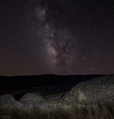 Carrizo Plain Milky Way with light painting - Explore (Patrick Dirlam) Tags: moonandsky trips carrizoplain lightpainting explore explored