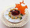 Chinese Imperial Feast # 7 (MurderWithMirrors) Tags: kaiyodo miniature food feast chinesefood vegetable platter dish mwm pigeon