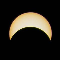 Celestial (C Beard) Tags: canada eclipse montreal nd400 partialsolareclipse