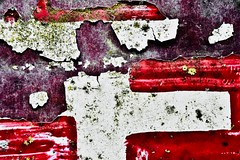 Paintwork.... (rienschrier) Tags: old paint art verf oud kunst