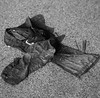 La morte di Pasolini - The death of Pasolini (Fa Male Vivere) Tags: pier paolo pasolini fa male vivere death ostia petrolio dirty clothes murder bw street photography rubbish garbage