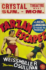 Tarzan Escapes (1936, USA) - 09 (kocojim) Tags: maureenosullivan illustrated kocojim poster johnnyweissmuller publishing advertising film illustration motionpicture movieposter movie