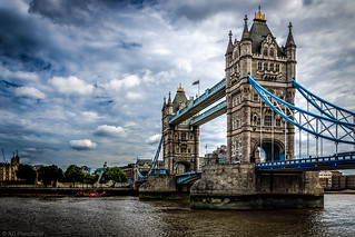 Clouds over Tower Bridge