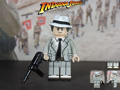 Custom LEGO Raiders of the Lost Ark: Dr. René Belloq (Will HR) Tags: lego custom raidersofthelostark indianajones