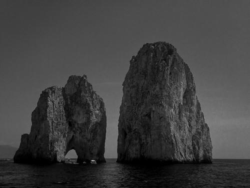 Capri Faraglioni Rock Formations | 170820-2243-jikatu