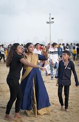 Chowpatty beach, Mumbai (Sebhue) Tags: chowpattybeach mumbai bombay india