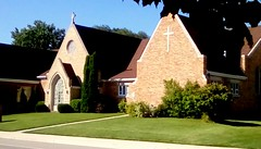 Emmanuel Lutheran Church! (Maenette1) Tags: emmanuellutheranchurch sunday morning service worship neighborhood menominee uppermichigan flicker365 michiganfavorites