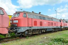 218 393-7 DB Regio Bremen Werk 14.06.14 ii (Paul David Smith (Widnes Road)) Tags: 218 3937 db regio bremen werk 140614 2183937 br218 baureihe218