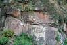 Thunderhead Sandstone (Neoproterozoic; Chimney Tops overlook roadcut, Great Smoky Mountains, Tennessee, USA) 2 (James St. John) Tags: thunderhead sandstone precambrian proterozoic neoproterozoic clingmans dome great smoky mountains national park tennessee