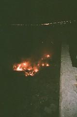 000054240012 (imburningout) Tags: 35mm film fuji superia xtra 400 canon sureshot analog fire flame iran mashhad